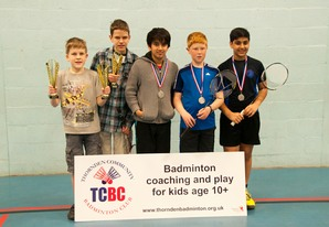 Bronze Boys winners 2014