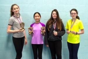 Bronze Girls Champions